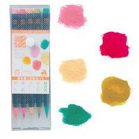 あかしや CA200/5VA 水彩毛筆彩 春を描く5色セット 1個(5色) (直送品)