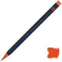 あかしや 筆ペン CA200-02 水彩毛筆「彩」朱色 5本 (直送品)