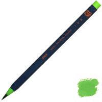 あかしや 筆ペン CA200-04 水彩毛筆「彩」若草色 5本 (直送品)