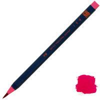 あかしや 筆ペン CA200-16 水彩毛筆「彩」茜色 5本 (直送品)
