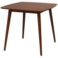 市場 emo(エモ)テーブル/木製スクエアテーブル 幅750×奥行750×高さ720mm ブラウン 1台 (直送品)