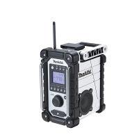 マキタ 充電式ラジオ (白)(本体のみ充電器バッテリ別売) MR107W (直送品)