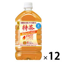 【トクホ・特保】サントリー 伊右衛門 特茶 カフェインゼロ 大麦ブレンド茶 1L 1箱(12本入)