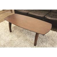 ジャックポット レノンフォールディングテーブル ウォールナット 幅1200×奥行500×高さ400mm 1台 (直送品)