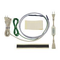 これカモ 凍結防止ヒーター 2m サーモスタットつき (水道管の凍結防止 金属管・樹脂管兼用) GA-KE002 (直送品)