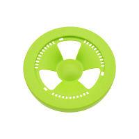 赤札見つけ シンク用 排水口のフタ (ゴミを隠す プラスチック製 グリーン) GA-PB030 (直送品)