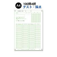 スキャネット マークシート A4(テスト・採点用)100問4択 SN-0320 1箱(1000枚入)(直送品)
