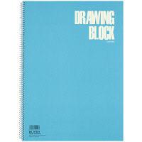 マルマン S1031-02 B4 スクールスケッチブック ブルー 2冊 (直送品)