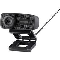 バッファロー マイク内蔵120万画素Webカメラ HD720p対応モデル ブラック BSWHD06MBK 1台  (直送品)