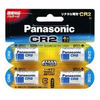 パナソニック カメラ用リチウム電池 3V CR2 4個パック CR-2W/4P 1台