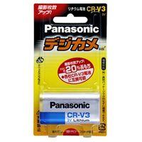 パナソニック カメラ用リチウム電池 3V CRーV3 CR-V3P 1台  (直送品)