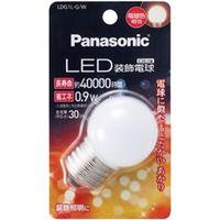 パナソニック LED装飾電球 0.9W (電球色相当) LDG1LGW 1個  (直送品)