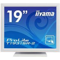 iiyama 19型液晶ディスプレイ ProLite T1931SRー2 (抵抗膜方式タッチパネル) ピュアホワイト PLT1931SR-W2  (直送品)