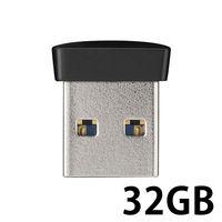 バッファロー USB3.0対応 マイクロUSBメモリー 32GB ブラック RUF3-PS32G-BK 1台  (直送品)