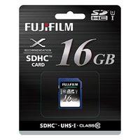 富士フイルム UHSーI SDHCカード 16GB SDHC-016G-C10U1 1個  (直送品)