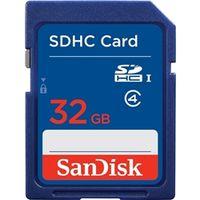 サンディスク スタンダード SDHCカード 32GB SDSDB-032G-J35U 1枚  (直送品)