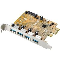 アイ・オー・データ機器 USB3.0対応 PCI Express用インターフェースボード US3-4PEX 1個  (直送品)