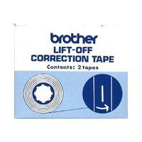 ブラザー タイプライター用リフトオフコレクションテープ(全機種対応) 3010 1箱(直送品)