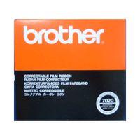ブラザー コレクタブルカーボンリボン(黒) 7020 1箱  (直送品)