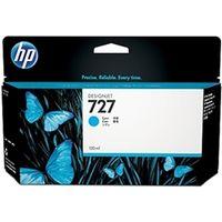 HP(ヒューレット・パッカード) HP727インクカートリッジ シアン130ml B3P19A 1個  (直送品)