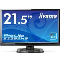 iiyama 21.5型ワイド液晶ディスプレイ ProLite E2282HS (LED) マーベルブラック E2282HS-GB1 1台  (直送品)