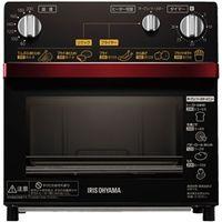 アイリスオーヤマ ノンフライ熱風オーブン レッド FVH-D3A-R 1個  (直送品)
