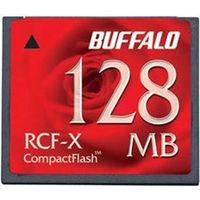 バッファロー コンパクトフラッシュ ハイコストパフォーマンスモデル 128MB RCF-X128MY 1枚  (直送品)