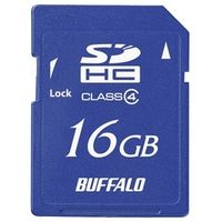 バッファロー Class4 SDHCカード 16GB RSDC-S16GC4B 1台  (直送品)