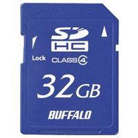 バッファロー Class4 SDHCカード 32GB RSDC-S32GC4B 1台  (直送品)