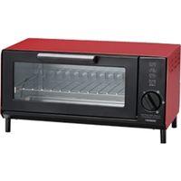 ツインバード工業 オーブントースター (レッド) TS-4034R 1個  (直送品)