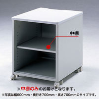 サンワサプライ eデスク(Pタイプ)用 中棚 ED-PN45N 1個 (直送品)