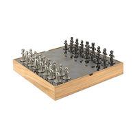 アンブラ バディ チェスセット ナチュラル 幅330×奥行330×高さ38mm 1個 (直送品)