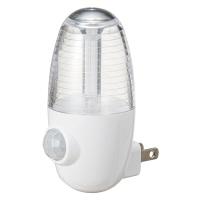 LEDセンサーナイトライト 10個入 NASMN01WH-10 ヤザワコーポレーション(直送品)