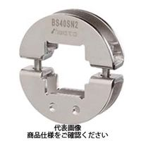 岩田製作所 シャフトブラケット(角シャフト用) 2ネジ穴付タイプ BS12SN2 1セット(3個) (直送品)