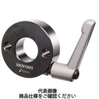 岩田製作所 セットカラー クサビカラー 2穴付タイプ(クランプレバー付) SCK2515CP2B 1セット(2個) (直送品)