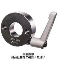 岩田製作所 セットカラー クサビカラー 2穴付タイプ(クランプレバー付) SCK2015CP2B 1セット(2個) (直送品)