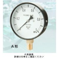 右下精器製造 普通型圧力計 汎用圧力計 スターゲージ AT1/4-60X1MPA 1個 (直送品)