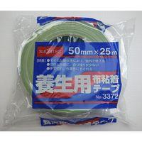 マクセル(maxell) マクセル 布養生テープ NO3372 50mmX25M ライトグリーン 30巻入 NO3372LG50-30P(直送品)