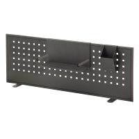 あずま工芸 LIBRO(リブロ) バックパネル ブラック 幅850 × 高さ300mm 1枚 (直送品)