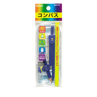 クツワ コンパス 鉛筆用 CP206 5個(直送品)
