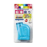 クツワ 鉛筆削り ケズール(ライトブルー) RS018LB 5個 (直送品)