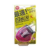 クツワ 2枚刃鉛筆削り(ピンク) RS021PK 5個 (直送品)