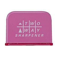 クツワ 2Wayシャープナー(ピンク) RS023PK 5個 (直送品)