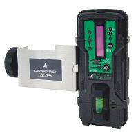 シンワ測定 受光器 レーザーレシーバー2 Plus グリーン用ホルダー付 71501 (直送品)
