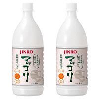 ジンロ(JINRO)マッコリ 1000ml 2本
