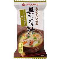 インスタント味噌汁 シャキシャキ白菜の豚汁 アマノフーズ 3個