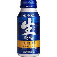 日本盛 生原酒大吟醸 ボトル缶 200ml 3本