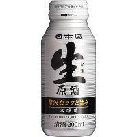 日本盛 生原酒 ボトル缶200ml 3本
