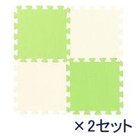 ジョイントカラーマット 抹茶 2セット(8枚入×2)