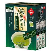 宇治の露製茶 伊右衛門 香味厳選 抹茶入りインスタント緑茶 1箱(30本入)
